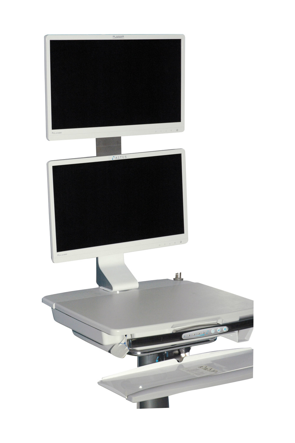 FSD-5 Vertical Dual Monitor Mount - *Non-Standard Product Offering with Extended Lead Times