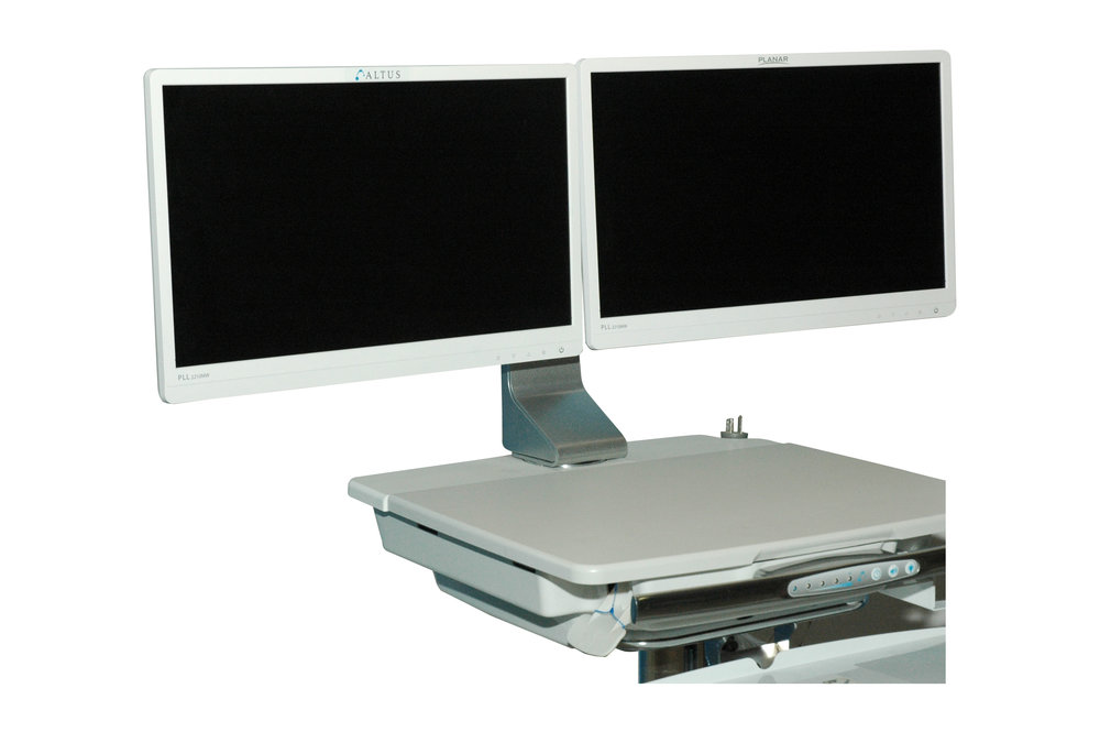 FSD-9 Horizontal Dual Monitor Mount - *Non-Standard Product Offering with Extended Lead Times