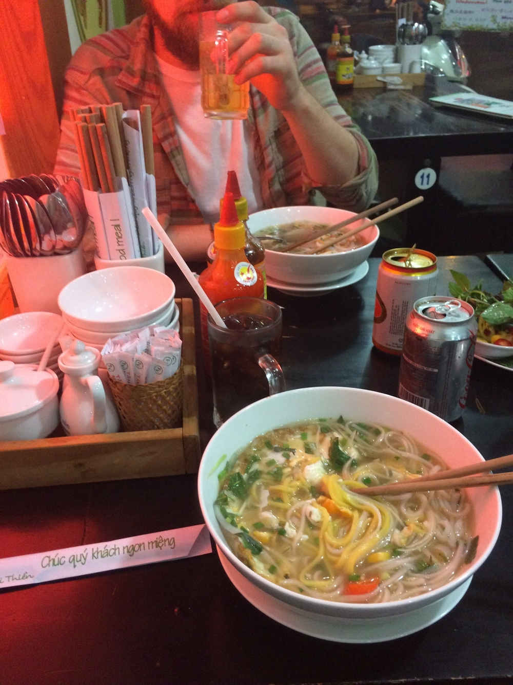 EVIL PHO! looks decivingly delicious but has made Brian sick