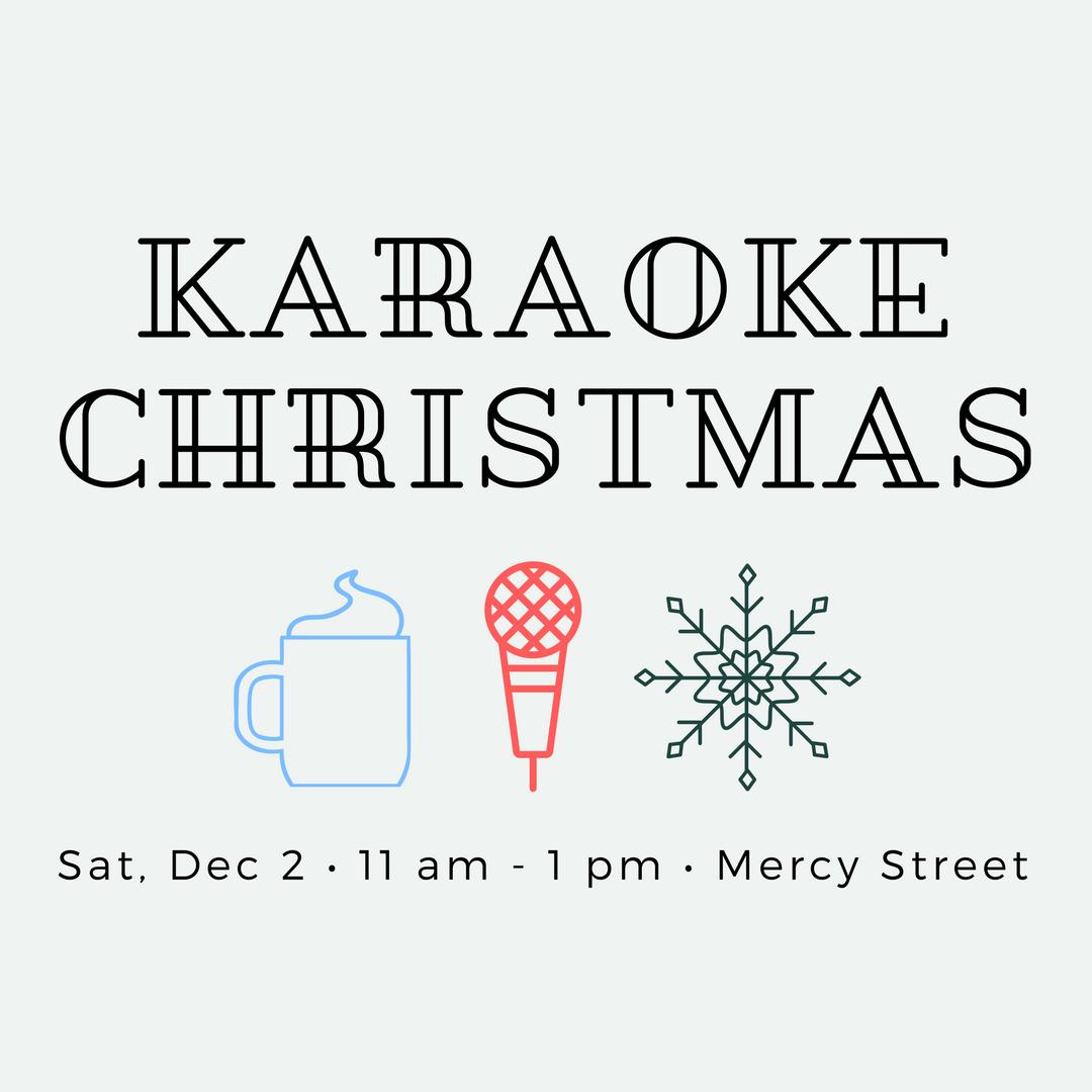 Karaoke Christmas Party.Mentor Mentee Karaoke Christmas Party Mercy Street Dallas
