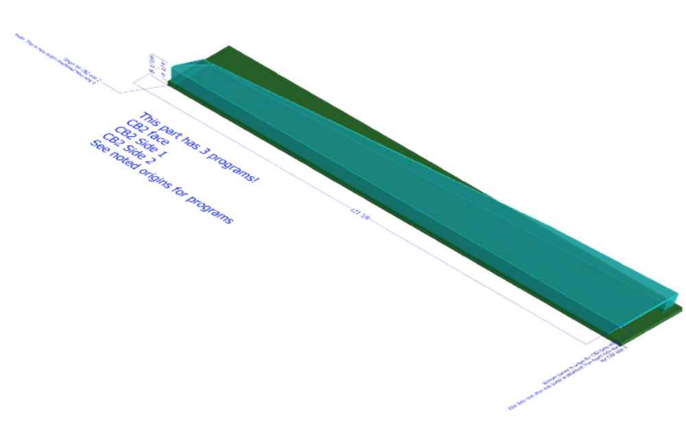 FIG. 3:     SAMPLE OF MILL PART 3D MODEL