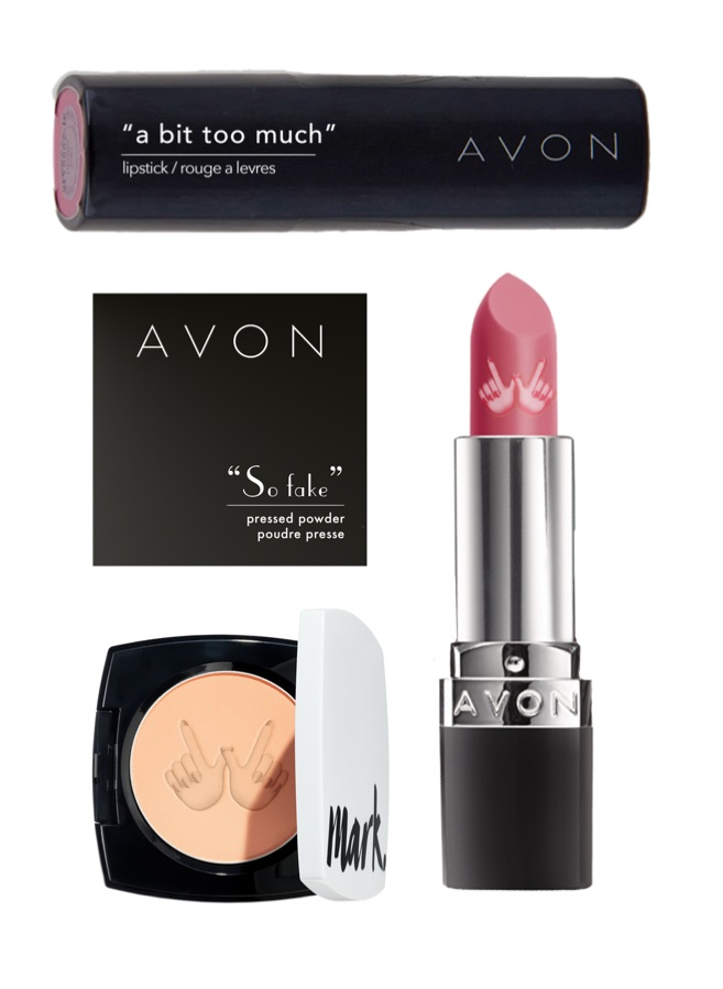 Negative product names - We will change all of the product names on Avon's website for the day, so that each will be branded with an insult or negative comment our consumers have received.The limited edition products will open a wider debate on self esteem, cyberbullying and makeup's role, and put Avon at the heart of it. Not all heroes wear masks, but they do wear face masks.
