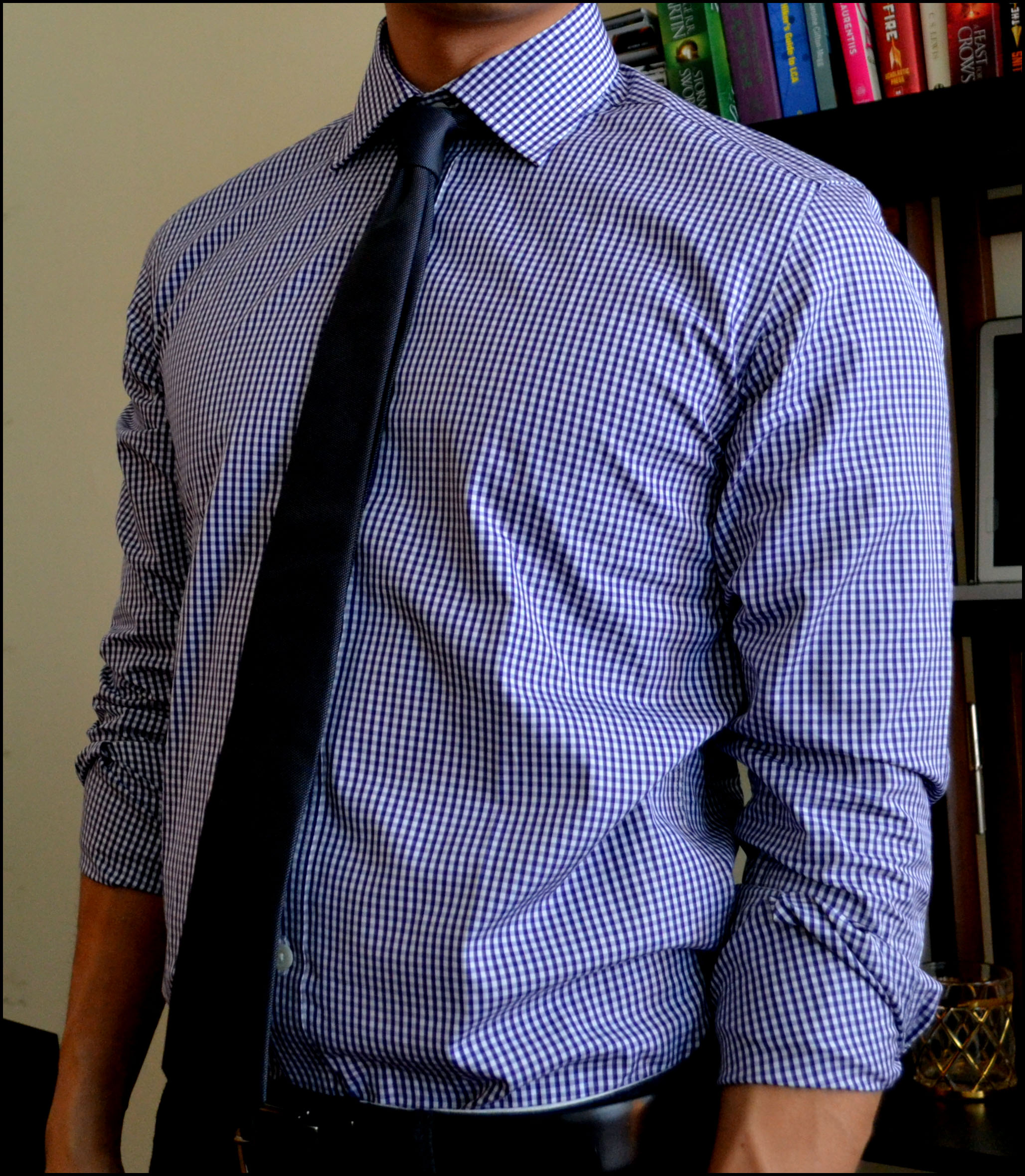 Dress shirt tie and hugh crye dress shirts simpler man for Casual shirt and tie