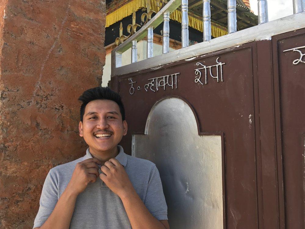 Nima @ Salleri Monastery