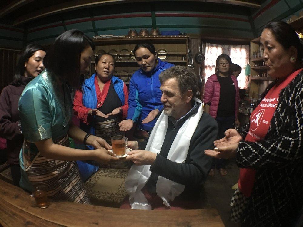 Tea & Hospitality