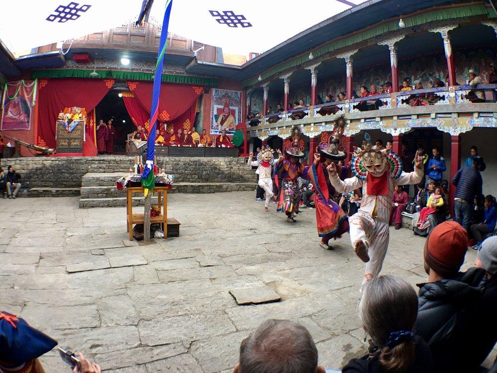Tibetan Buddhist Festival - Chiwong Monastery