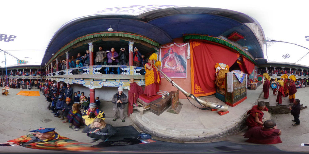 Tibetan Buddhist Festival - Chiwong Monaster