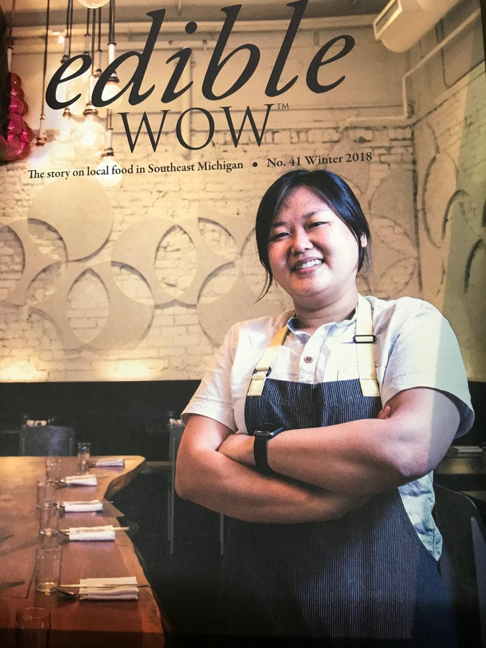 Restauranteur Ji Hye Kim