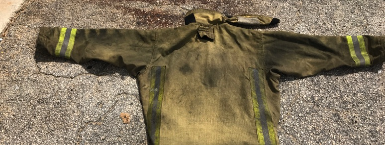 Uncleaned Turnout Gear