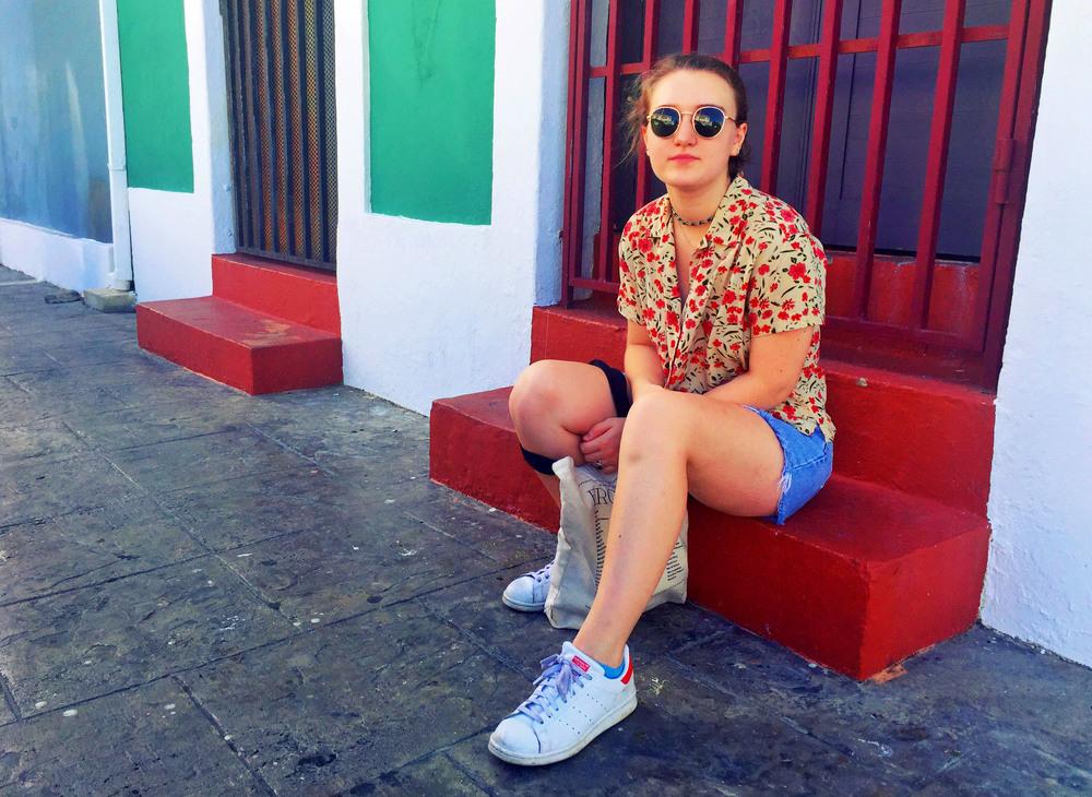 Claire, Old San Juan, Puerto Rico