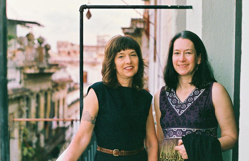 Jen & Catherine, Havana, Cuba