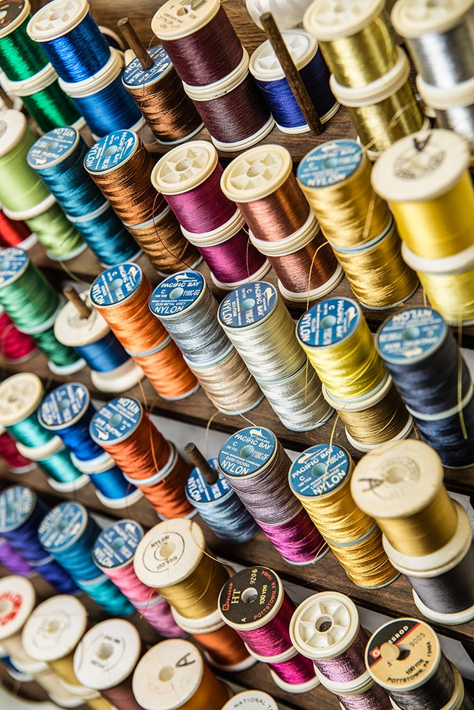 Still Life - Thread Spools