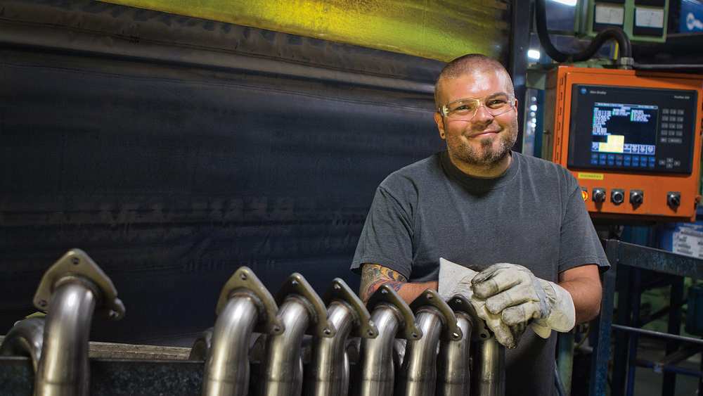 Manufacturing Portrait - Plant Worker