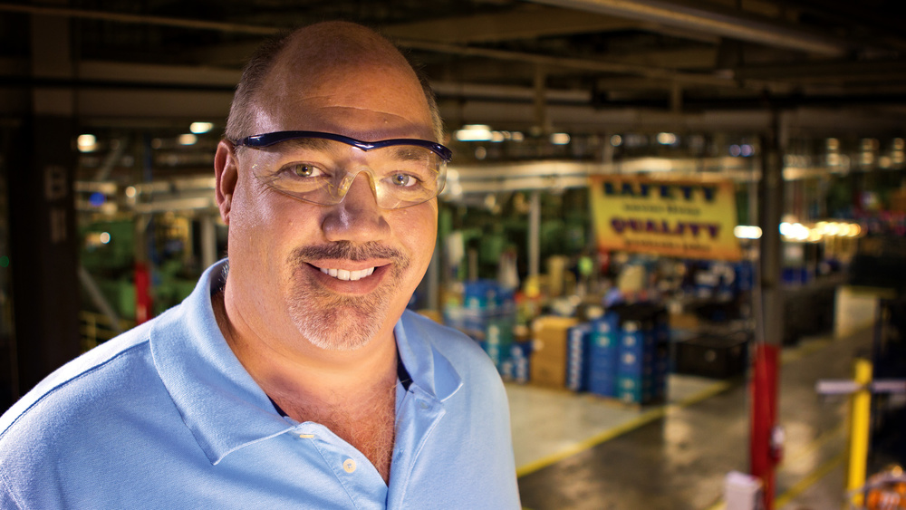 Manufacturing Portrait - Safety