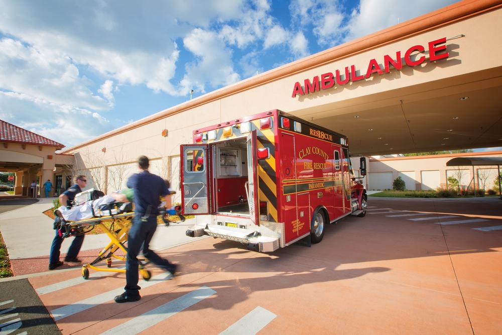 Orange Park Medical Center: EMTs and Ambulance