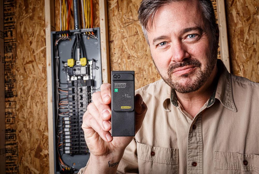 Manufacturing Portrait - Electrician