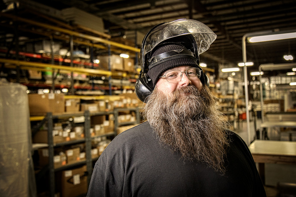 Manufacturing Portrait