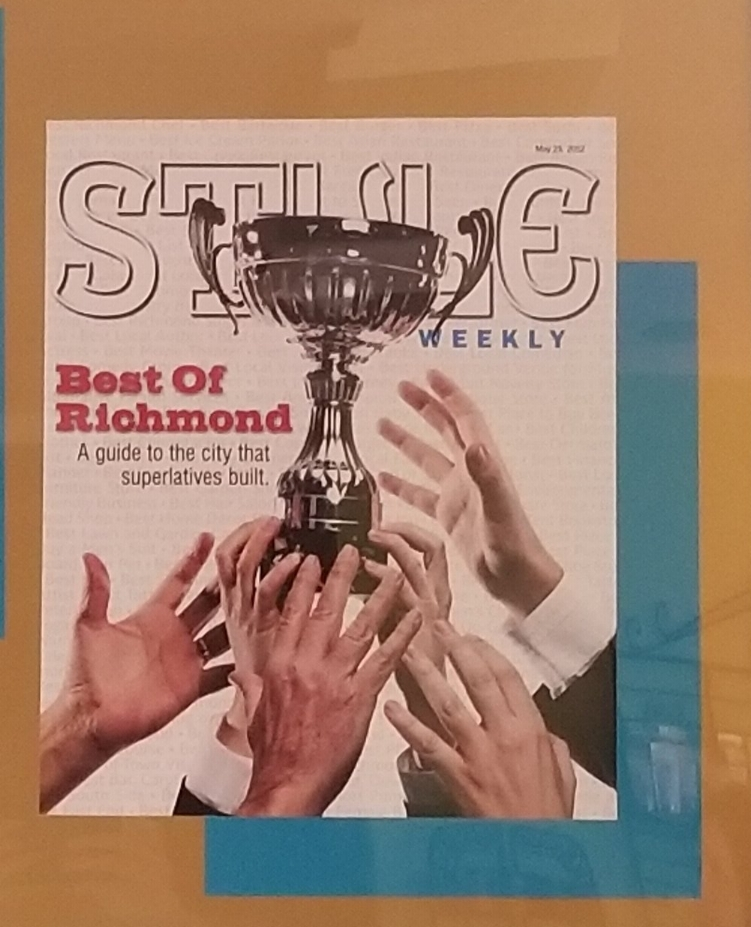 Remee's Style Weekly quote when voted Best of Richmond (consecutively six time winner!)