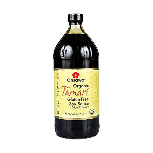 Ohsawa Organic Tamari - Tamari aids in digestion of fruits and vegetables, while being rich in several minerals, and is a good source of vitamin B3, protein, manganese, and tryptophan.