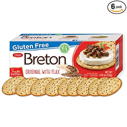 Gluten Free Crackers - Crackers are so delicious, you won't believe they are gluten free! Certified gluten free by the Canadian Celiac Association's Gluten Free Certification Program.