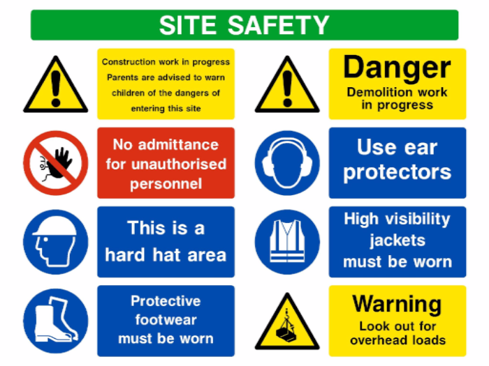 Construction signs effective in promoting workplace safety ccr construction signs effective in promoting workplace safety ccr fine art prints blueprints malvernweather Choice Image