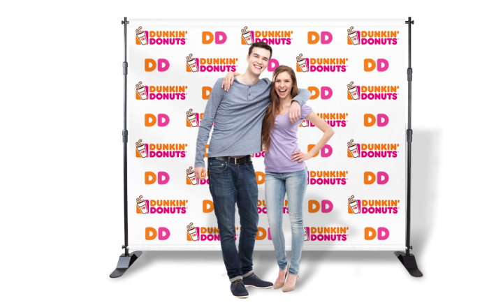 Let Cap City Repro produce a step and repeat banner for your next big event. This high quality custom backdrop ensures perfect photos every time.