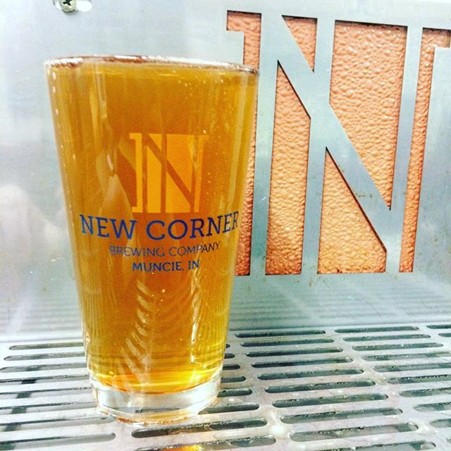 There's not much better, at the end of the day, than New Corner's Liberty Street IPA #craftbeer #drinklocal #muncie #indiana #drinkgoodbeer