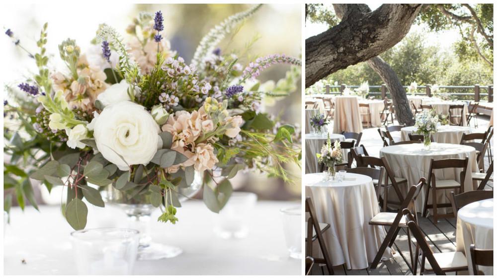 Soft Natural Wedding Florals Hoste Events