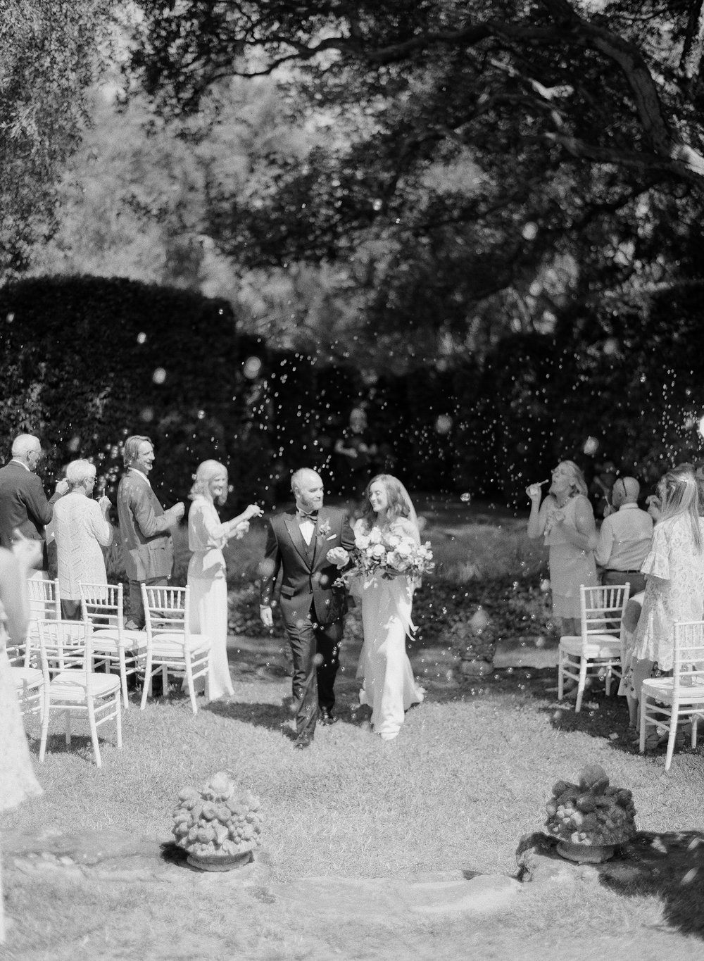 Lotusland garden ceremony