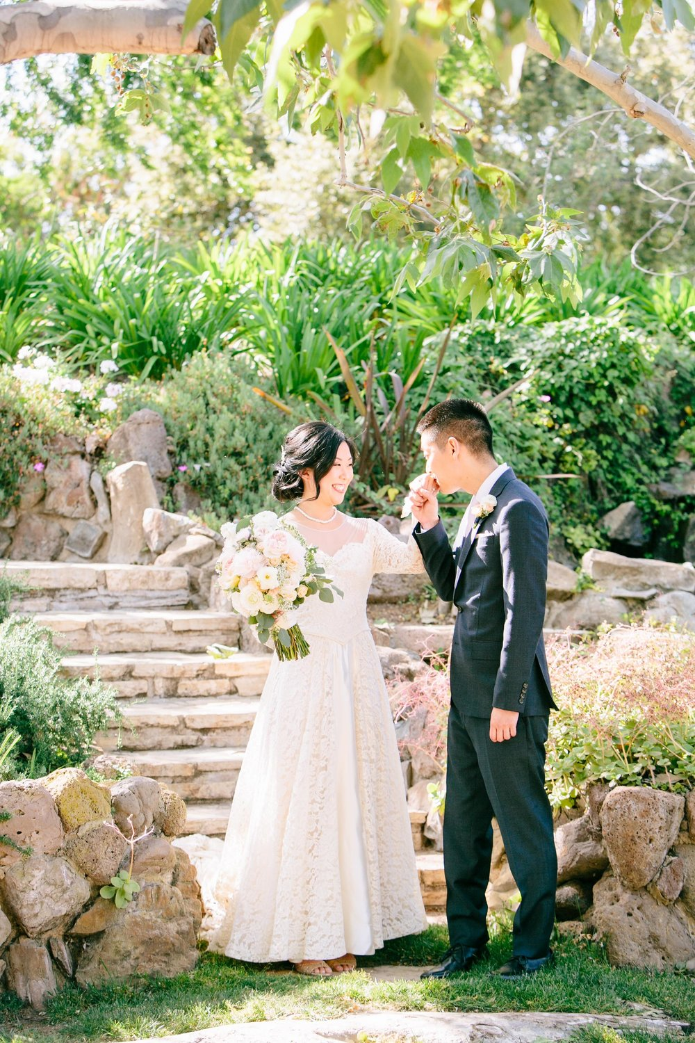 Quail Ranch bride and groom