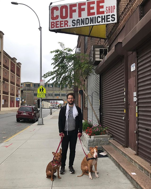 This is my favorite sign and one of my favorite blocks in Long Island City. It's among the only places left that still resemble the neighborhood I chose as my home back before that neighborhood became the eastern terminus of Midtown. Gotta show the pups where they come from before the developers get in and finish kicking out the less-than-savory breeds. . 📷@kraikraps . . . #longislandcity #pitbullsofinstagram #kareempanino #shaquillejacquemustinkerbell #lic #qns