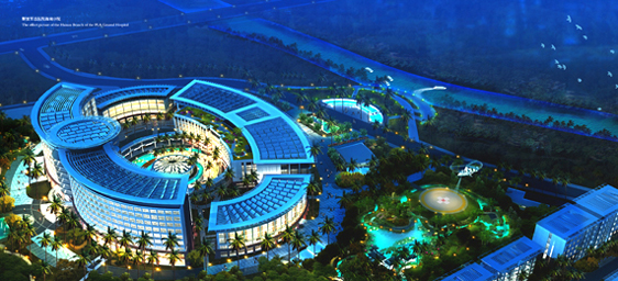 """UMH is currently working with the 301 Hospital in Hainan to open a """"Health Tourism Resort"""""""