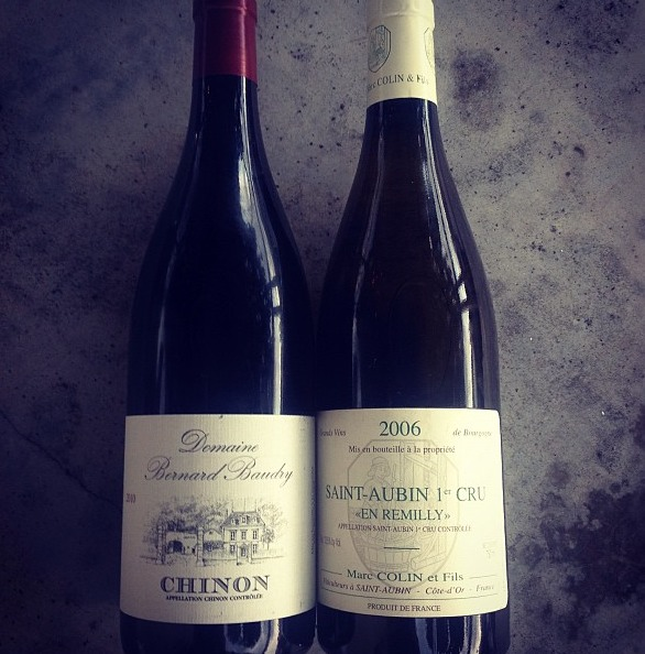 Bastille Day comes but once a year…let's toast the revolution over some fine French wines and food Tonight only! Feast like the French, over mussels, poussin and steak frites paired with a couple excellent French wine specials. A revolutionary deal at only $10/glass… Chinon, Domaine Bernard Baudry, 2010, Cabernet Franc Saint-Aubin 1er Cru Marc Colin, En Remilly, 2006, Chardonnay