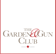 The National is now a part of the Garden & Gun Club! Members who present a valid card will receive a special appetizer on the house. Become a member today and join in our celebration of the South at http://gardenandgunclub.com/becomeamember.htm A little bit about the new Garden & Gun Club… In August 2009, Garden & Gun announced the launch of the Garden & Gun Club. The mission of the members-only club is to bring the pages of the magazine to life through exclusive gatherings and special privileges at some of the South's most distinct places. The G&G Club features three levels of membership: the Adventure Society, the Sporting Society, and the Secret Society. Each level includes a membership card providing exclusive deals at hotels, lodges, restaurants, and stores across the South, invitations to private events, and access to select sporting activities. For a full list of the club's network of restaurants and businesses where members receive special treatment visit http://gardenandgunclub.com/clubnetwork.htm