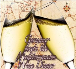 "German white wines meet Mediterranean food at our August wine dinner. Postponed from July, this five course dinner with pairings will showcase just how versatile German wines can be.       Wednesday, August 10    6:30 - 9pm    $65 per person    reservations highly encouraged  at 706-549-3450 or thenationalrestaurant@gmail.com        on the menu…      1. Schloss Schönborn, Estate, Rheingau, Dry 2010     Georgia shrimp ""cocktail"", gazpacho sauce     2. Schäfer Frölich, Bockenauer, Nahe, medium dry 2009     tuna tartare, crispy oysters, cacik, urfa biber vinaigrette     3. Dr. F. Weins-Prüm, Graacher Himmelreich, Mosel, Kabinett 2008     roasted duck breast, piperade, Spanish potato tortilla     4. Von Hövel, Oberemmeler Hütte, Mosel, Spätlese 2007     robiolina and brillat-savarin cheeses with beet confiture and marcona almond brittle     5. Bert Simon, Serrig Würtzberg, Mosel, Auslese 2002     ""Tia Martha's"" chilled peach bread pudding, plum soup, caramel ice cream"