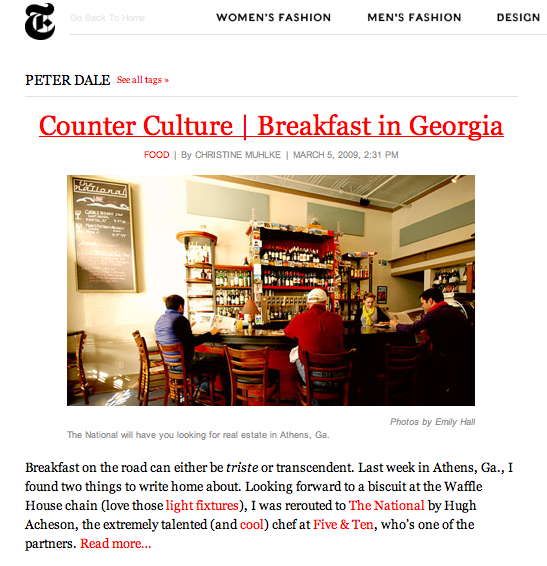 New York Times  The Moment Blog  comes to Athens