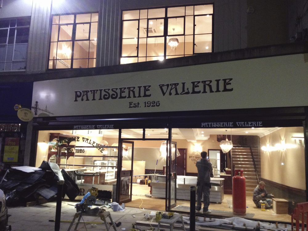 #NHRenovations #Painter #Decorator #London #Gloucester #PatisserieValerie #ShopFront