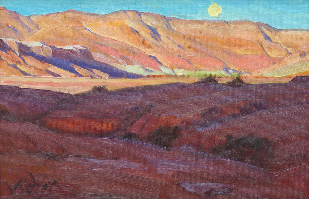 Moonrise Over Vermillion Cliffs
