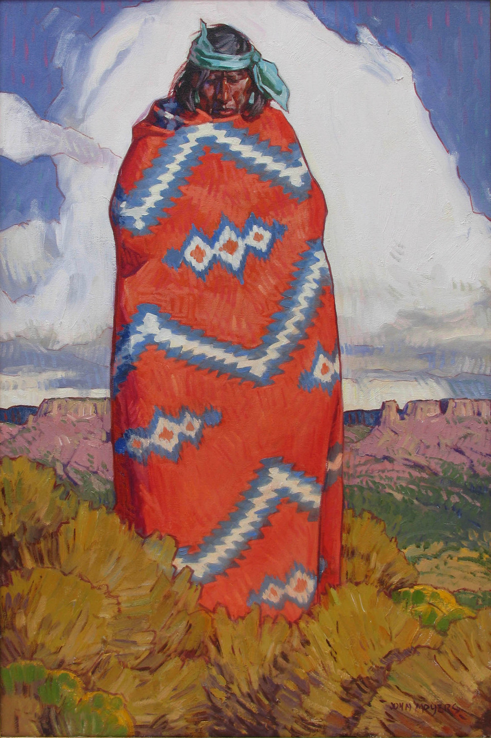 The Old Bayeta Blanket