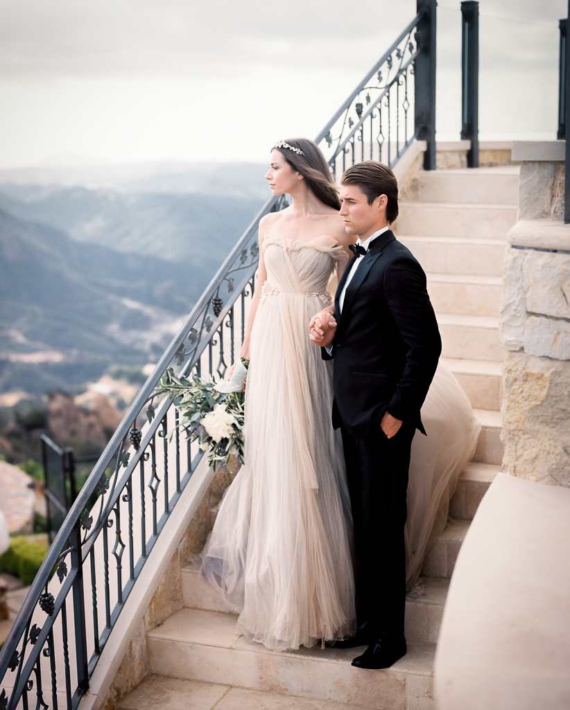 Bride and Groom Luxury Wedding Venue in Malibu