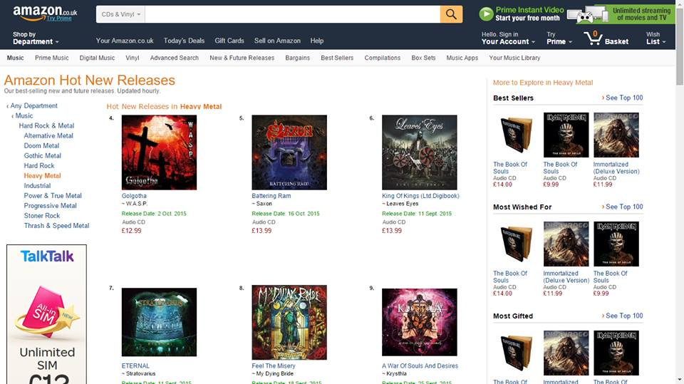 edccff889971a Krysthla break into Amazon Top 10 'Hot New Releases' — Krysthla