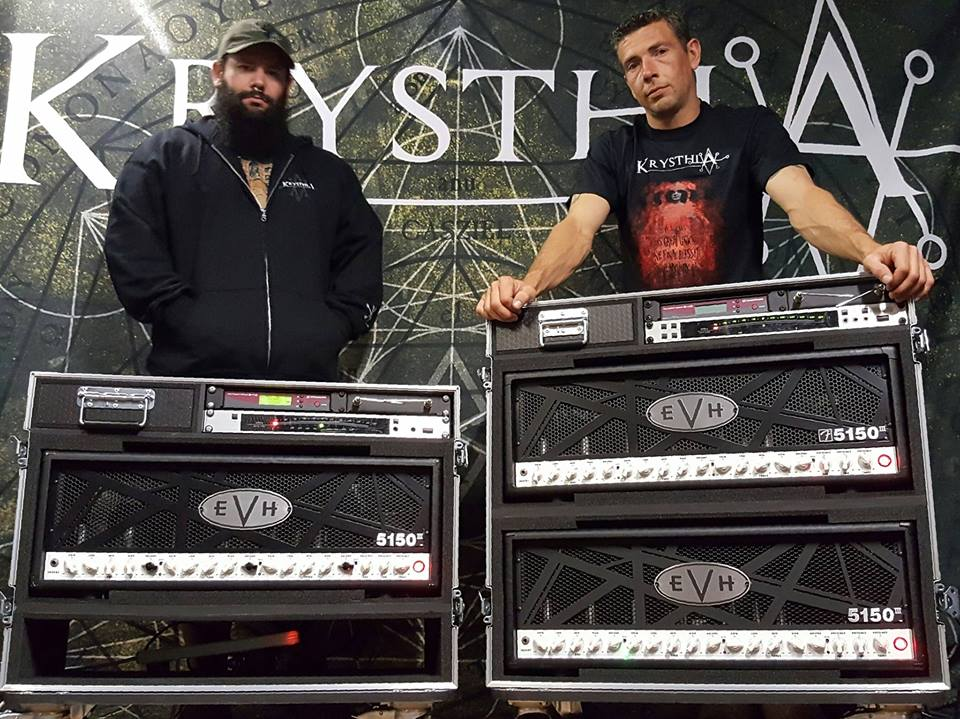 Big news at Krysthla HQ. We're proud to announce we've teamed up with the mighty EVH Gear and will be using EVH 5150 iii 100W heads for all live and studio performances.  This is a fantastic artist relationship, anyone that knows us will understand how highly we regard EVH amps, and we can't thank Sam and the artist relations team enough for this opportunity!   http://www.evhgear.com/