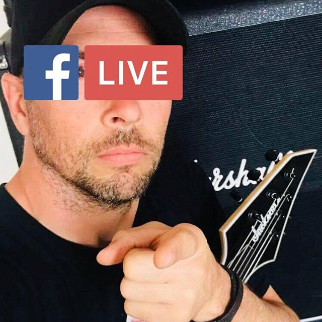 FB Live 8pm This Wednesday! 🔊💥🤘 #WheresNoel 😂  #FacebookLive #HeavyMetal #MondayMotivation #IWantYou