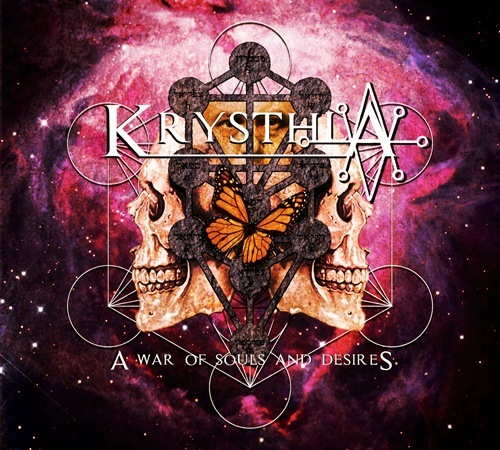 Released on this day in 2015! What are your favourite songs from the album 'A War Of Souls And Desires'? #OnThisDay #Krysthla #HeavyMetal #ExtremeMetal @initiateaudioandmedia @stampedepressuk @plastic_head_media