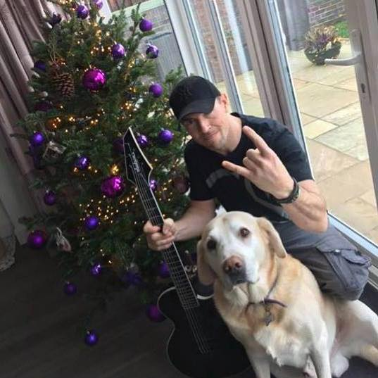 "🎄 Wishing you a VERY Merry Christmas. Thank you for your support in 2018. Bring on the New Year... exciting things in the works!"" 🍻🔊🤟 #merrychristmas2018 #merrychristmas #HeavyMetal #christmastree #dogsofinstagram"