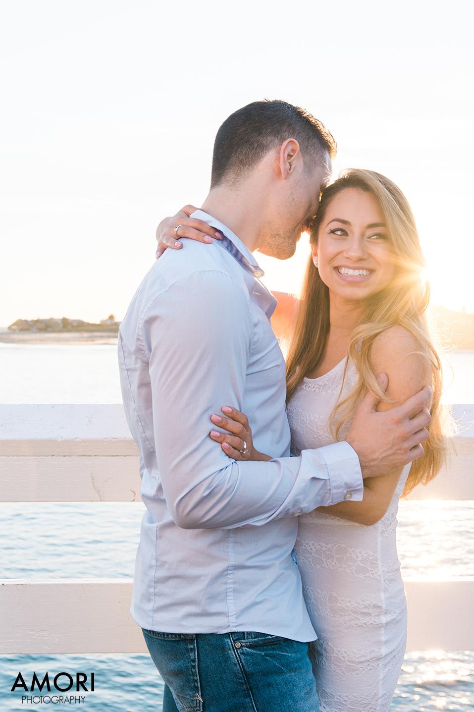 Malibu Pier Engagement