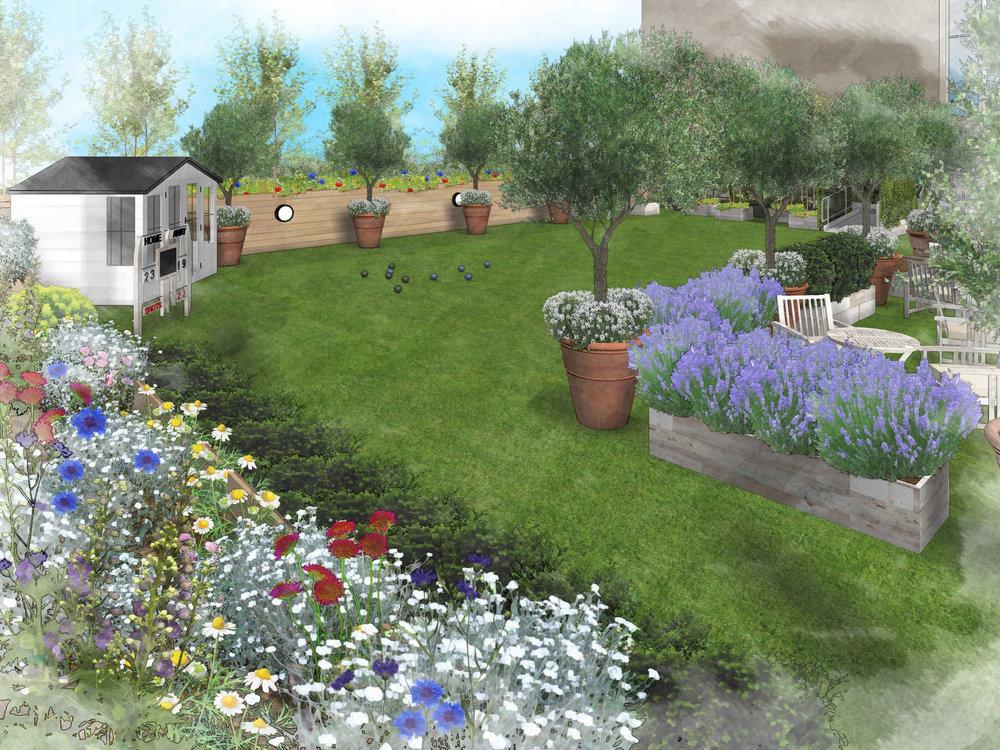 John Lewis roof garden - 2016