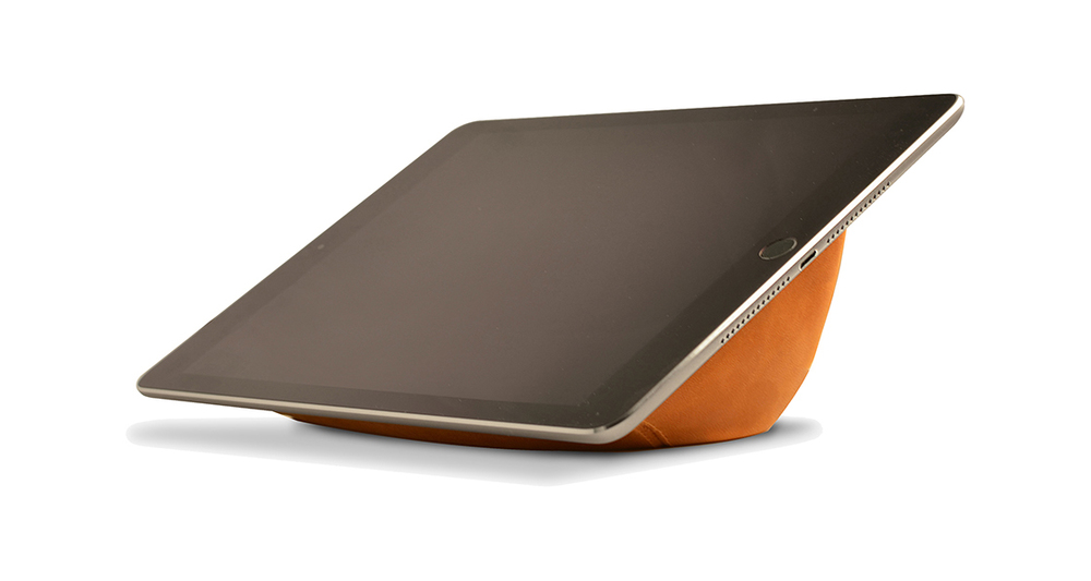 Brown Leather BOOY Tablet Lounge