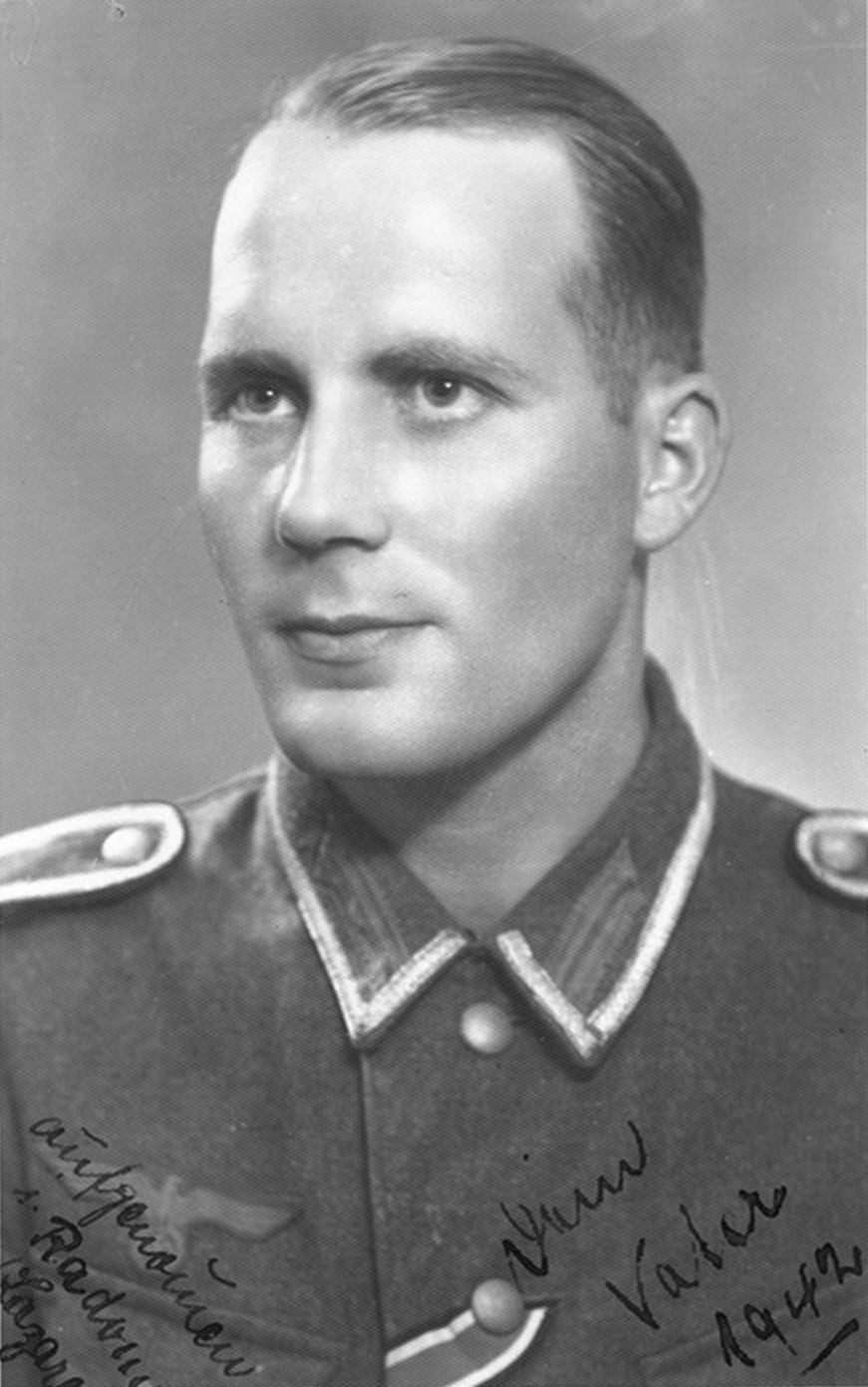 After being promoted to Platoon Leader, June 1942.