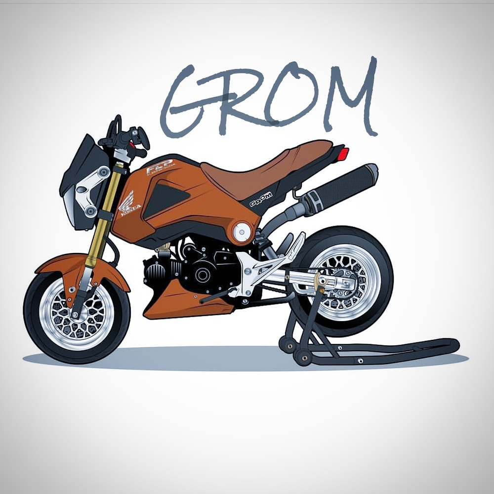 CARTOON GROM